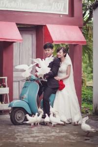 Album ảnh cưới trọn gói dã ngoại nội thành Hà Nội: 15.000.000đ