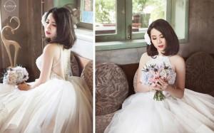 Những mẫu tóc ngắn cô dâu vô cùng mới mẻ
